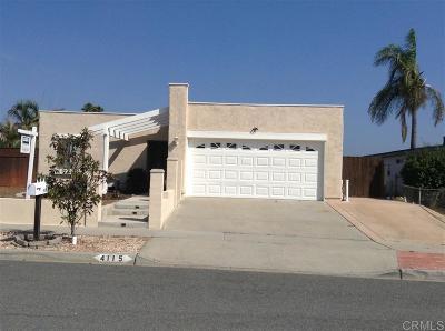 Oceanside Single Family Home For Sale: 4115 Alana