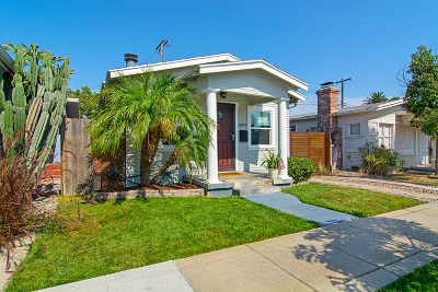 San Diego Single Family Home For Sale: 4477 37th St
