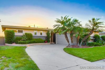 San Diego Single Family Home For Sale: 6064 Mohler St