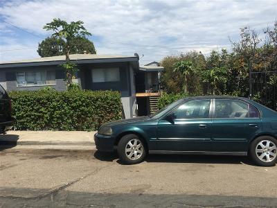 San Diego Multi Family 2-4 For Sale: 2637 44th Street