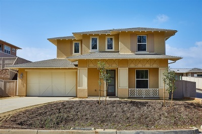 Carlsbad Single Family Home For Sale: 2887 Crest Drive