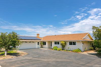 Single Family Home For Sale: 258 Rancho Bonito Rd