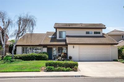 Rancho Santa Fe Single Family Home Sold: 15933 Avenida Calma