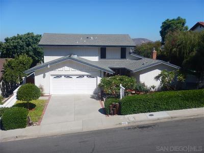 Del Cerro Single Family Home For Sale: 6312 Camino Largo