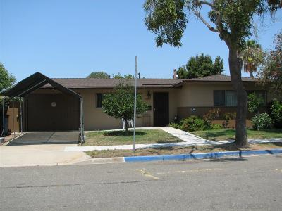 Clairemont, Clairemont Mesa, Clairemont Mesa East, Clairemont Unit 16, Clairmont Single Family Home For Sale: 5082 Barstow Street