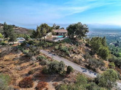 Single Family Home For Sale: 1869 Elevado Rd
