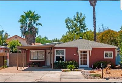 Escondido Single Family Home For Sale: 1419 S Tulip St