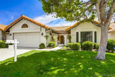 Single Family Home For Sale: 15465 Caldas De Reyes
