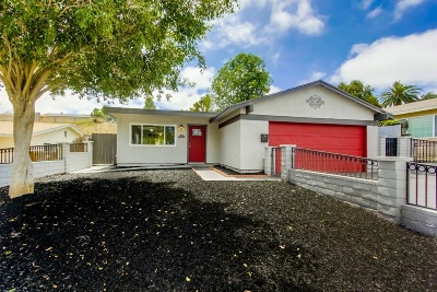 Single Family Home For Sale: 882 Carlsbad St