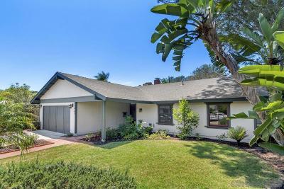 Del Mar Single Family Home For Sale: 13256 Portofino Dr