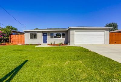 Vista Single Family Home For Sale: 1333 Marabou Ln