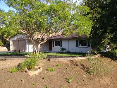 Fallbrook Single Family Home For Sale: 1105 Box Canyon Rd