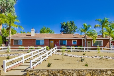 Poway Single Family Home For Sale: 14264 Jerome Dr.