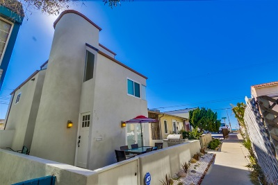 Pacific Beach, Mission Beach Single Family Home For Sale: 725 Salem Ct