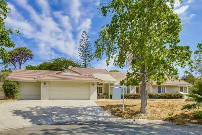 Single Family Home For Sale: 1626 Corte Ladera