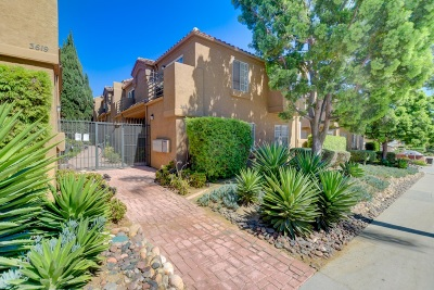 San Diego Townhouse For Sale: 3619 Florida Street #2