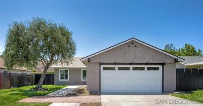 Poway Single Family Home For Sale: 15132 Amso Street