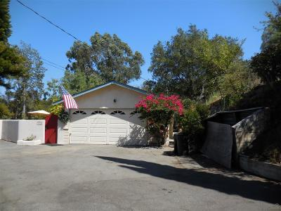 Fallbrook Single Family Home For Sale: 1879 Davis Dr