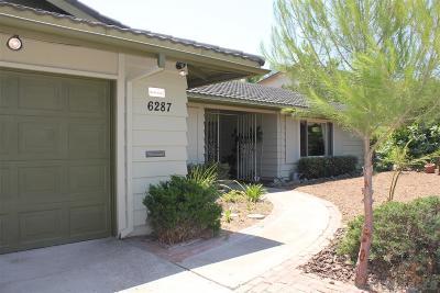 Del Cerro Single Family Home For Sale: 6287 Del Paso Ave