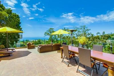 La Jolla Single Family Home For Sale: 1522 El Paso Real