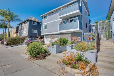 San Diego Attached For Sale: 4034 Florida St #3