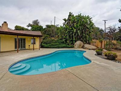 Escondido Single Family Home For Sale: Oro Verde