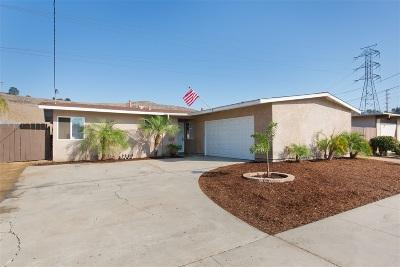 Oceanside Single Family Home For Sale: 3451 Las Vegas Dr
