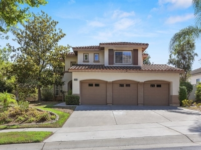 Escondido Single Family Home For Sale: 2301 Old Ranch Rd.