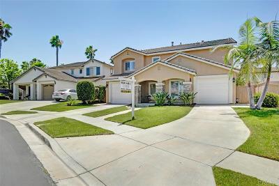 Chula Vista Single Family Home For Sale: 1526 Amador Ct