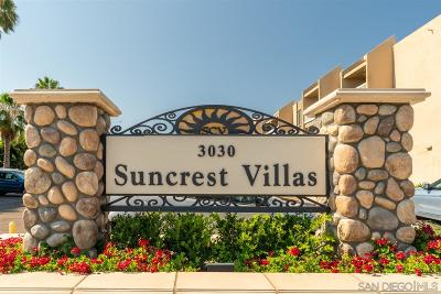 San Diego Attached For Sale: 3030 Suncrest Dr. #203