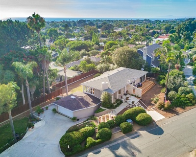 Encinitas/Leucadia, Leucadia, Leucadia Beach Community, Leucadia/Encinitas Single Family Home For Sale: 350 E Glaucus