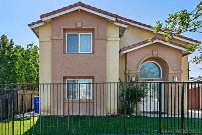 San Diego Multi Family 2-4 For Sale: 4152 - 4154 35th St.