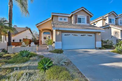 San Marcos Single Family Home For Sale: 624 Buckhorn Avenue