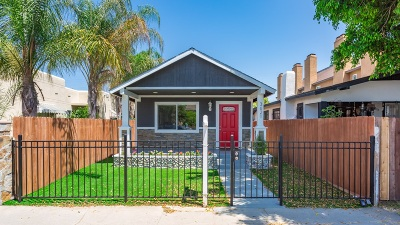 San Diego Single Family Home For Sale: 3621 Van Dyke Ave