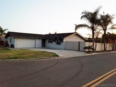 Vista Single Family Home For Sale: 1574 Kiva Ln