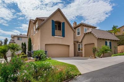 Single Family Home For Sale: 2041 Hidden Springs Court