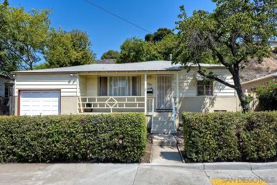 San Diego Single Family Home For Sale: 5430 Grape Street