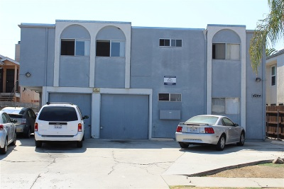 San Diego Multi Family 5+ For Sale: 4244 36th St