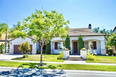 Chula Vista Single Family Home For Sale: 990 Adirondack Pl