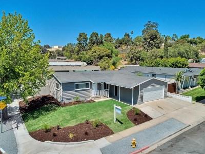 San Diego Single Family Home For Sale: 5902 Baja Dr