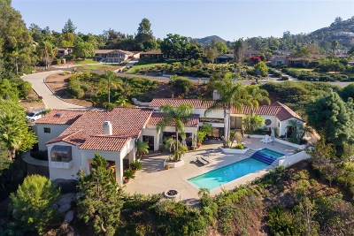 Poway Single Family Home For Sale: 13568 Orchard Gate Rd