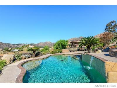 el cajon Single Family Home For Sale: 3264 Vista Matamo