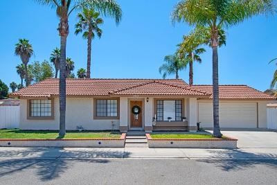 Escondido Single Family Home For Sale: 1957 Brooks Glen