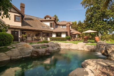 Rancho Santa Fe Single Family Home For Sale: 6085 Calle Camposeco