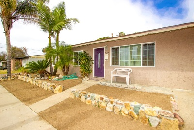San Diego Single Family Home For Sale: 429 Sears