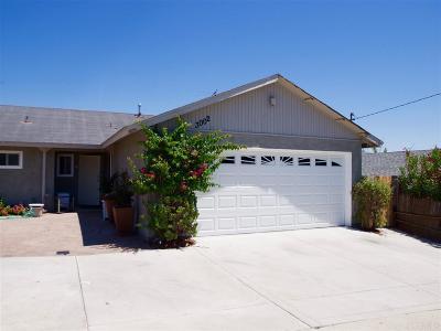 Oceanside Single Family Home For Sale: 3002 Linda Dr