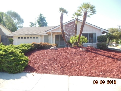 Escondido Single Family Home For Sale: 1411 Kingston Dr