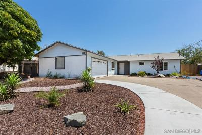 Poway Single Family Home For Sale: 13145 Ridgedale Dr