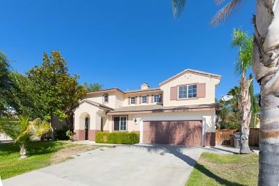 Murrieta CA Single Family Home For Sale: $529,000