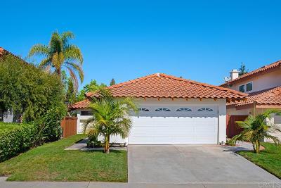 Single Family Home For Sale: 15662 Caminito La Torre